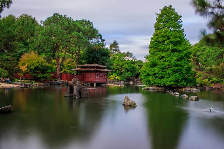 The stunning Japanese Garden