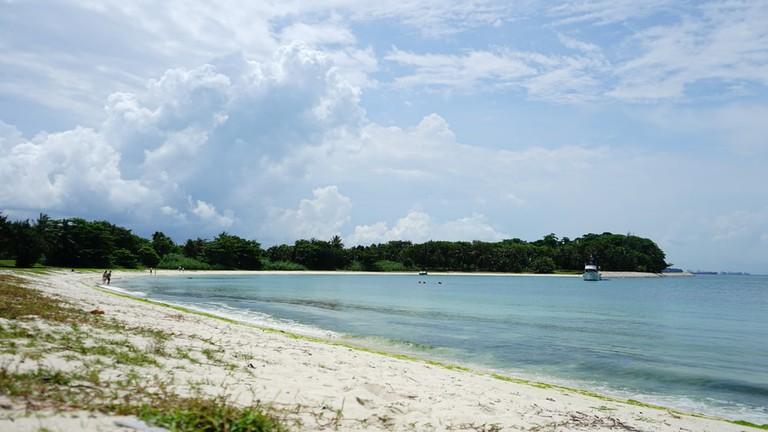 Beach at Saint John's Island, Singapore