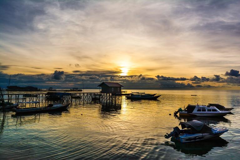 Derawan beach, East Kalimantan, Indonesia