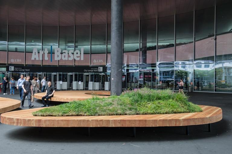 Exhibition Center in Basel, Switzerland