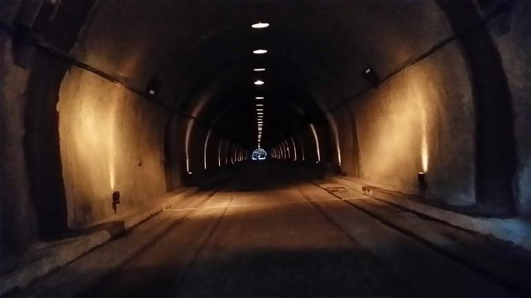 Malinta tunnel used during World War II, Corregidor island, Philippines