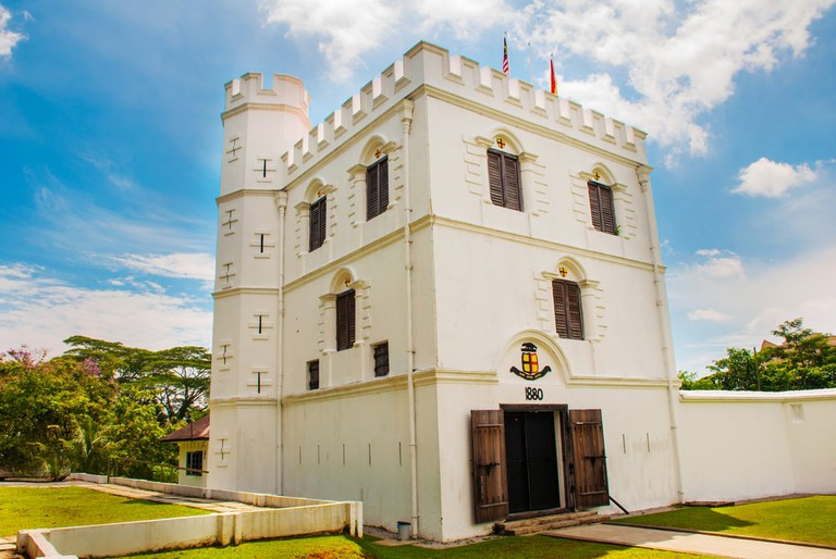 Fort Margherita in Kuching, Sarawak, Malaysia
