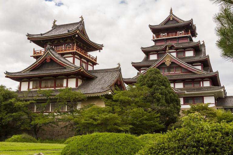 Momoyama castle in Kyoto, Japan.