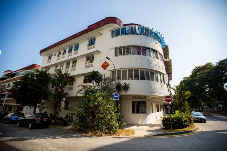 Singapore Tiong Bahru HDB Block