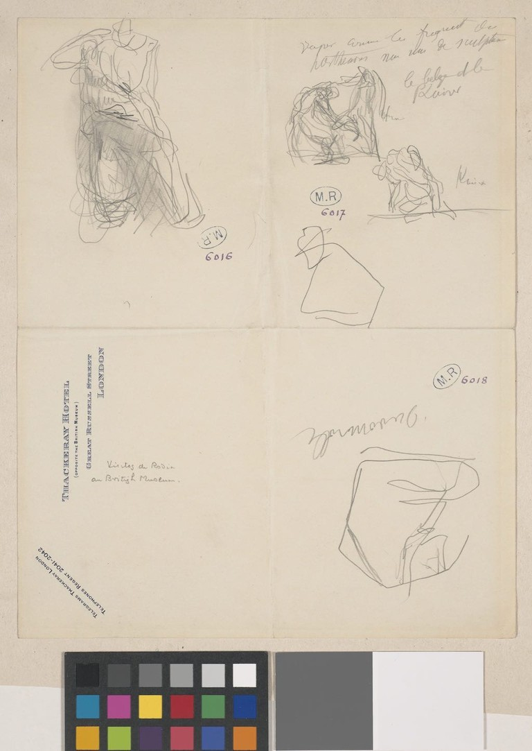 Sketches of the Parthenon