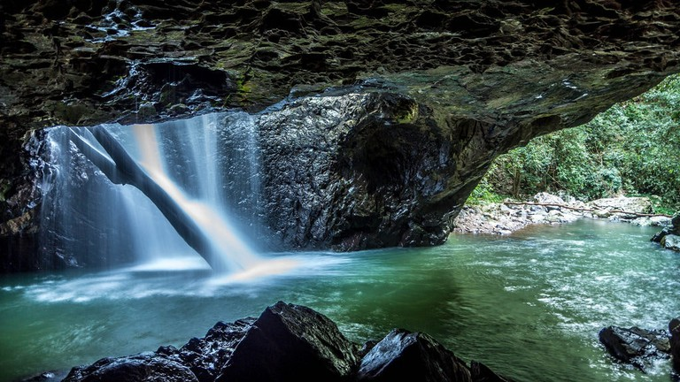 Springbrook Natural Bridge © Josselin Berger / Flickr