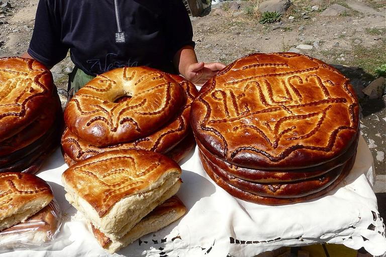 Armenian sweet bread