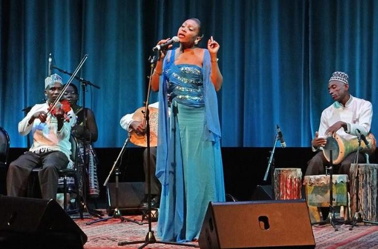 Taarab singer Saada Nassor from Zanzibar
