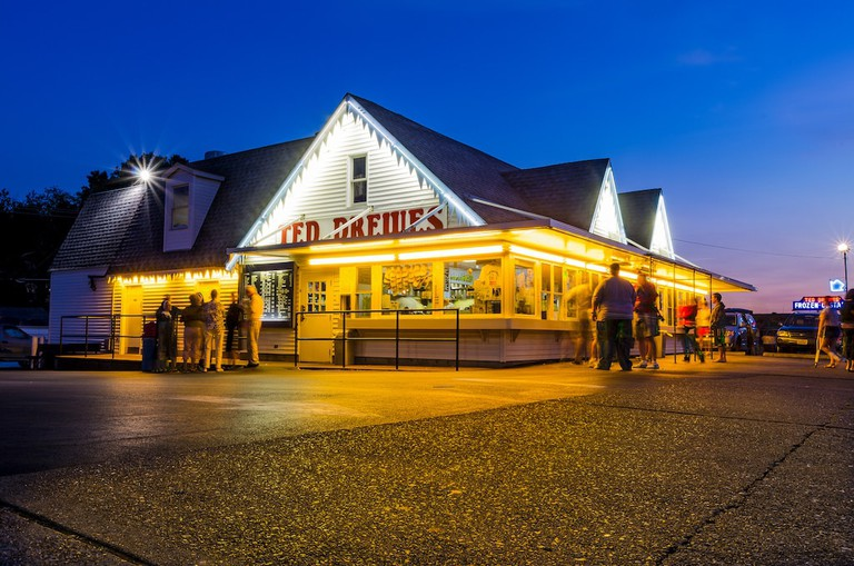 Ted Drewes frozen custard is an ice cream experience unlike any other