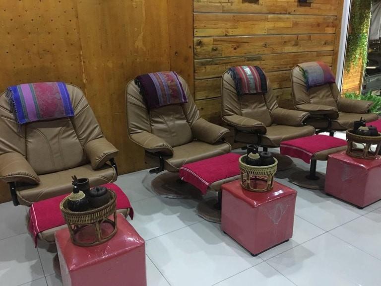 Massage chairs in Tatta Thai Massage
