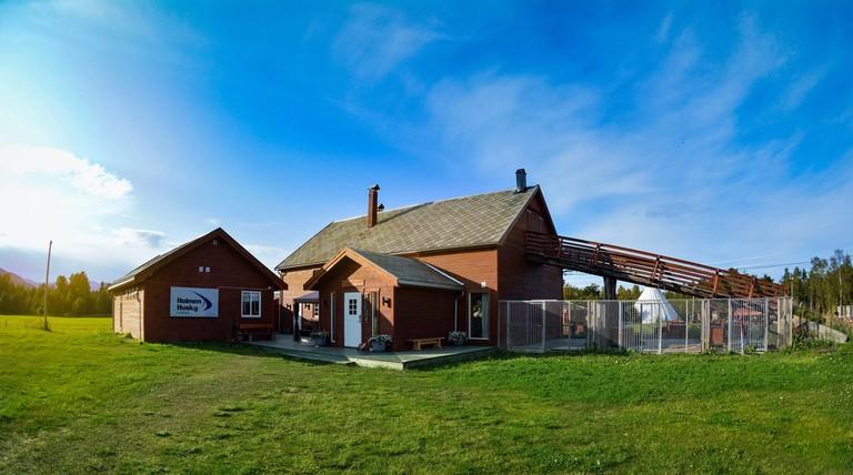 The Holmen Husky Lodge