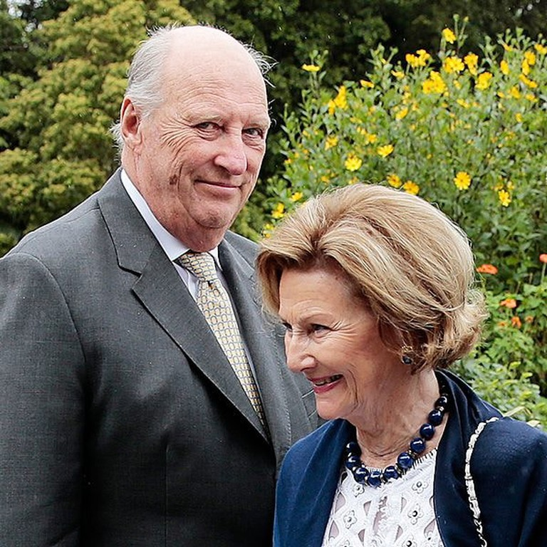 The King and Queen of Norway, © Lise Åserud, NTB scanpix, Courtesy of Kongehuset