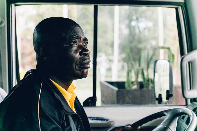 tour bus driver obudu