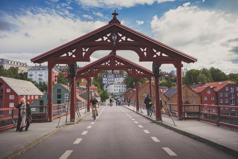 Trondheim bridge, Courtesy of Visit Trondheim