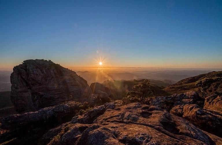 Itacolomi peak Minas Gerais