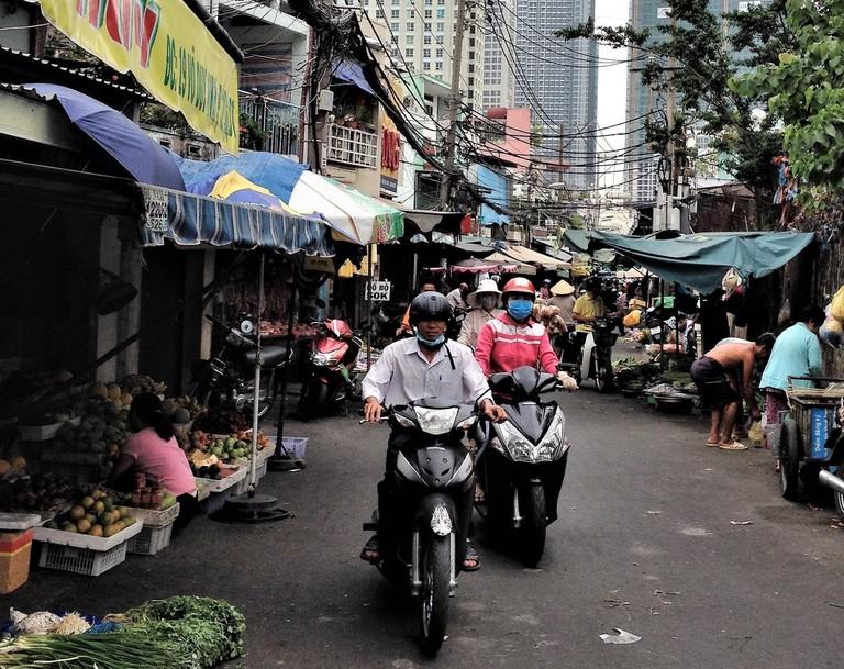 A market street in HCMC | Sam Roth
