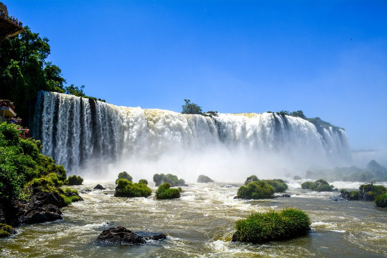 The natural beauty of Iguazu