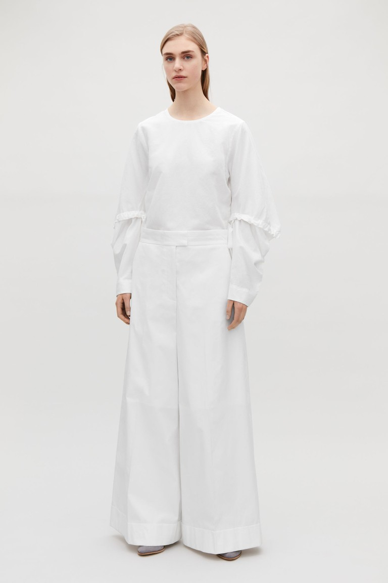 COS wide-leg trousers