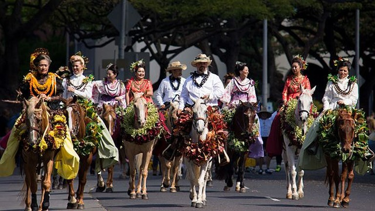 100th King Kamehameha Parade | © Daniel Ramirez / WikiCommons
