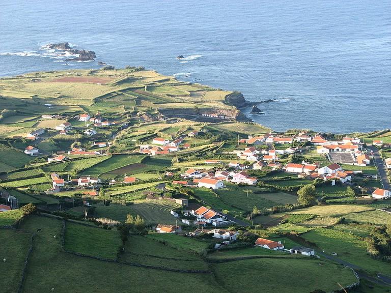 Village of Ponta Delgada, Flores