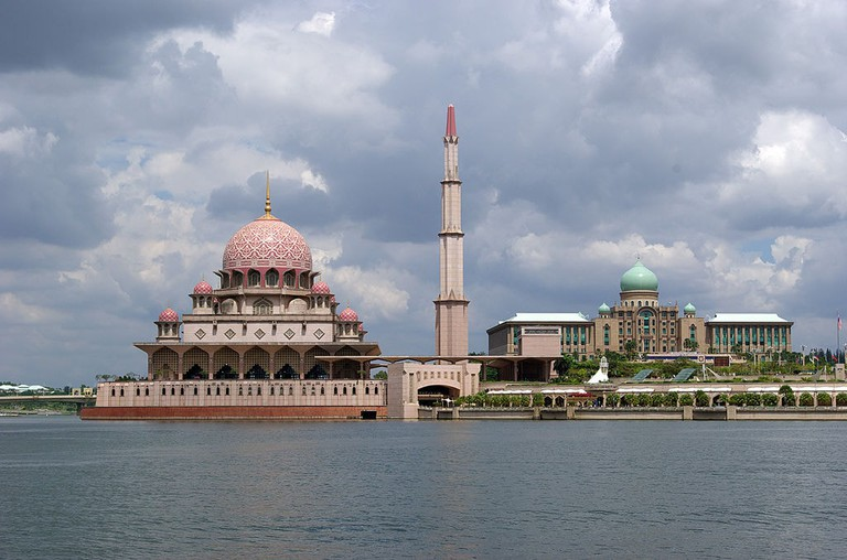 Mosque and Perdana Complex in Putrajaya