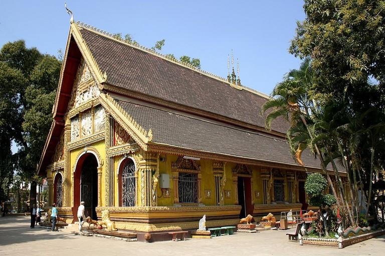 Wat Si Muang, Vientiane, Laos