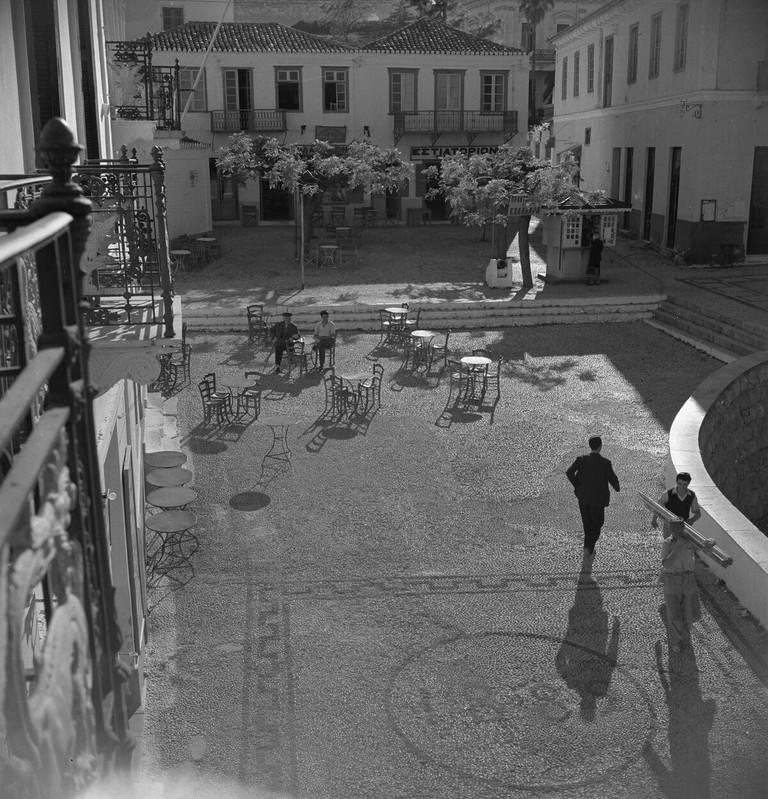 Spetses, Joan Leigh Fermor