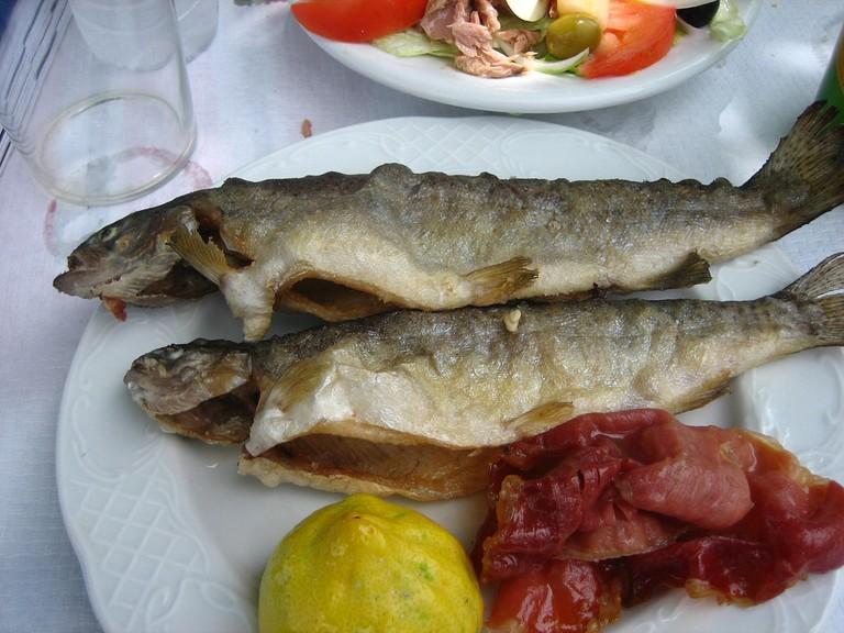 Navarran style trout