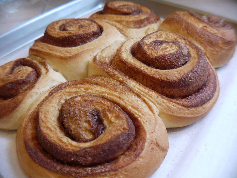 cinnamon rolls kanelsnegle