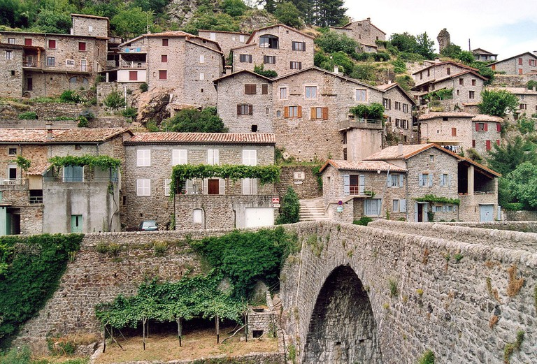 The Outstanding Village of Jaujac, Ardèche