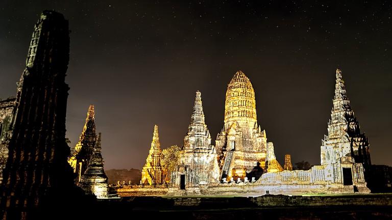 Ayutthaya's ruins