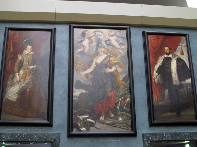 Rubens display, Louvre