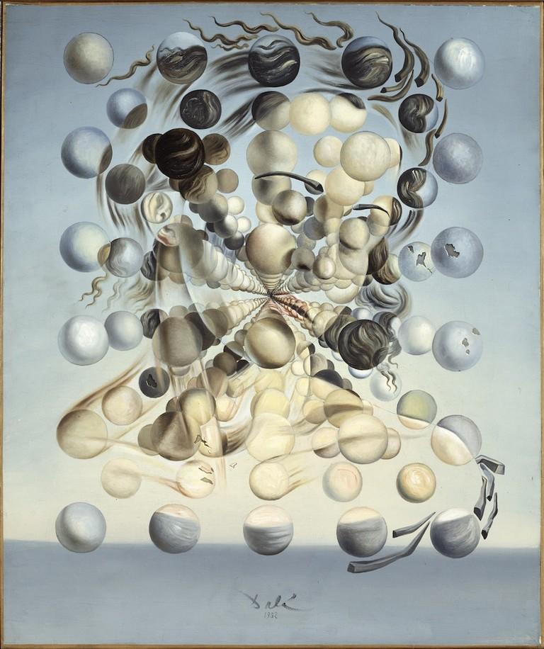 2.Salvador Dalí. Gala Placidia. Galatea de les esferes. 1952