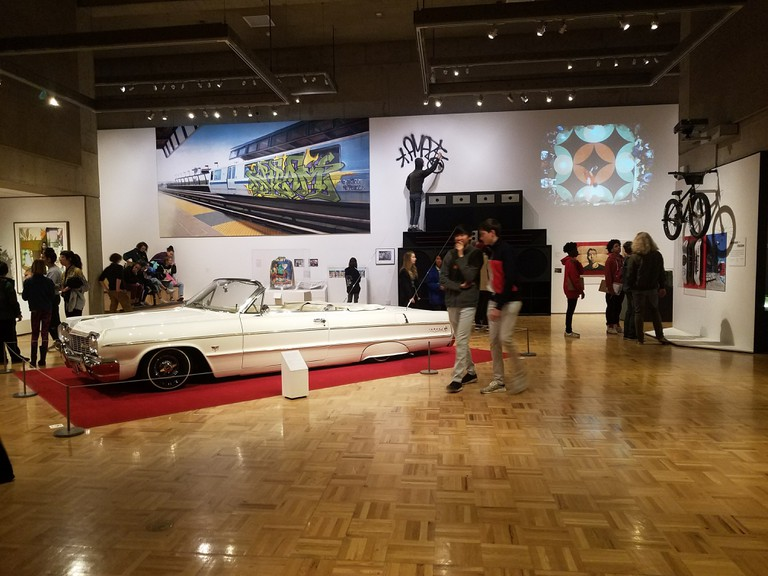 The Oakland Museum of California showcases hip-hop history in an interactive exhibit