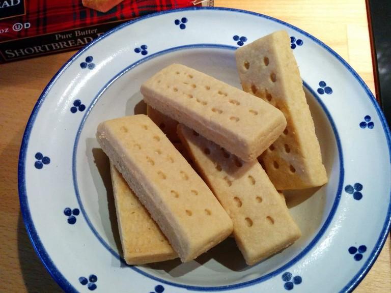 Scottish Shortbread Rounds