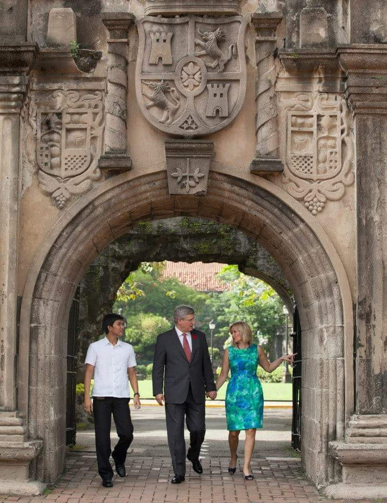 The Intramuros visit of a Prime Minister