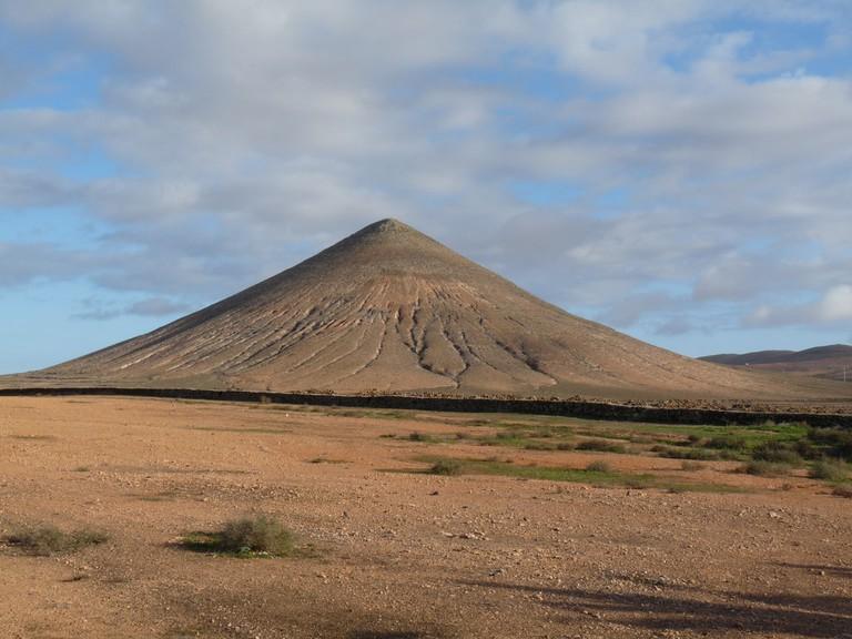 Volcano, Fuerteventura, Canary Islands
