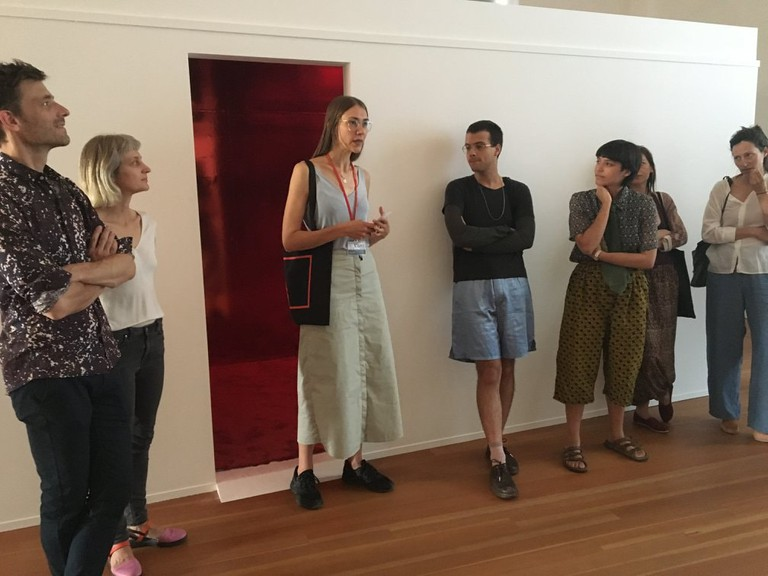 Mareike talks about an exhibition