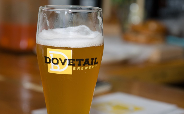 Dovetail Brewery, part of Ravenswood on Tap and Malt Row, likens beer making to a fine art.