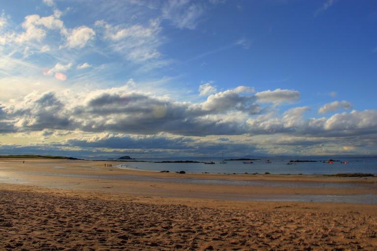 Beach Near East Linton, Scotland