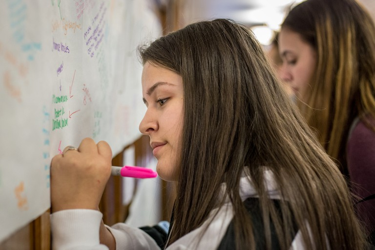 Students' organizations play an important role in Uruguay