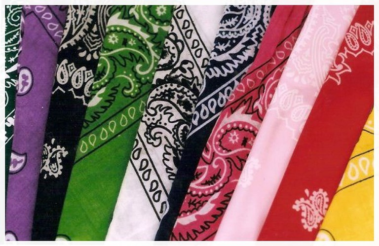 Each country in Latin America is choosing a different color for their feminist bandanas