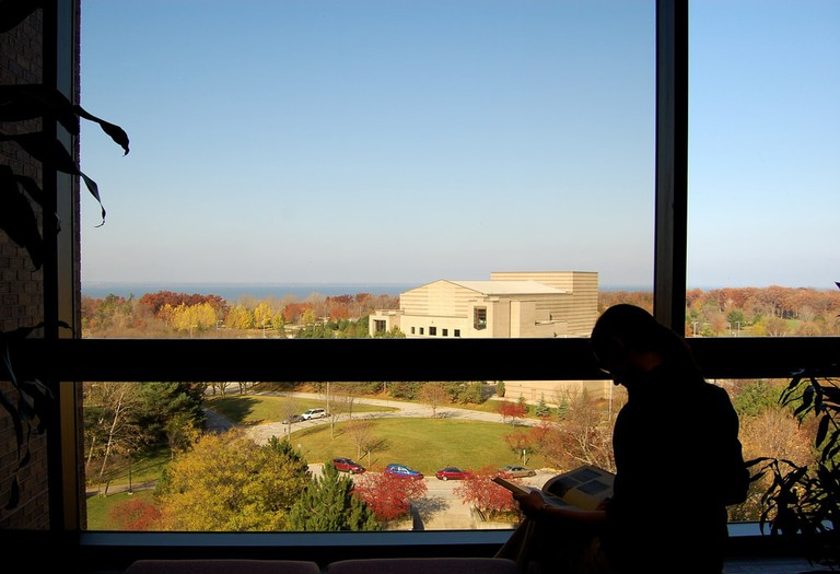 View from UW Green Bay library | © Cofrin Library/flickr