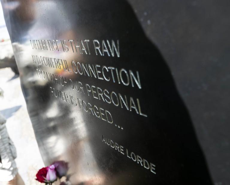 LGBTQ Monument Unveiling