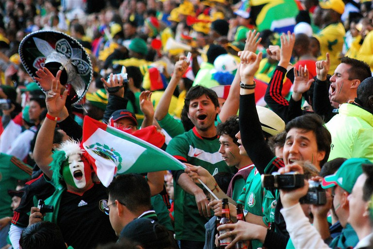 Mexico soccer fans