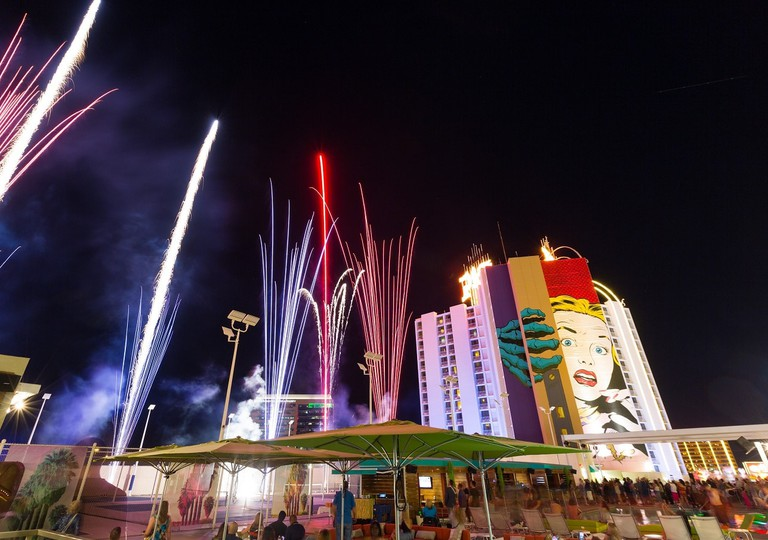 4th of july fireworks at Plaza 2017