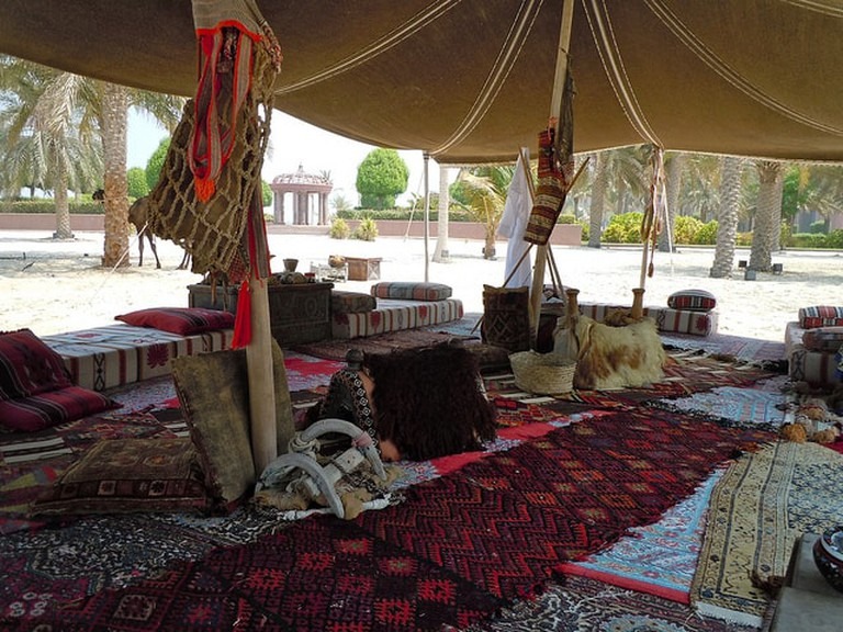 Camel wool was used to craft clothes, tents, rugs and other items