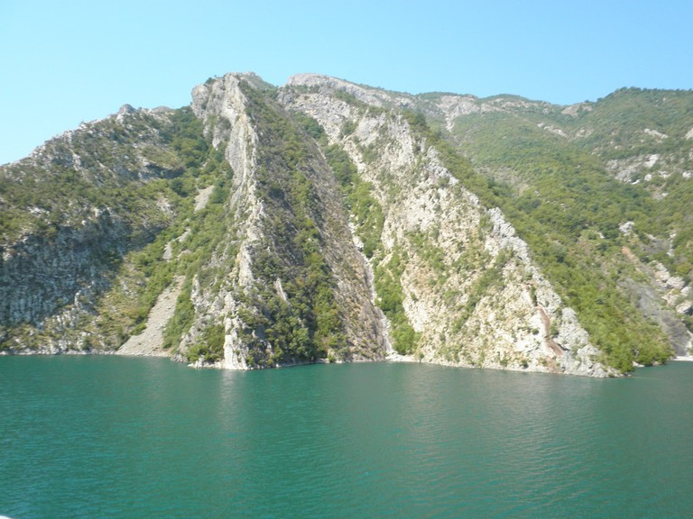 Lake Koman is one of the best places to visit in the North of Albania