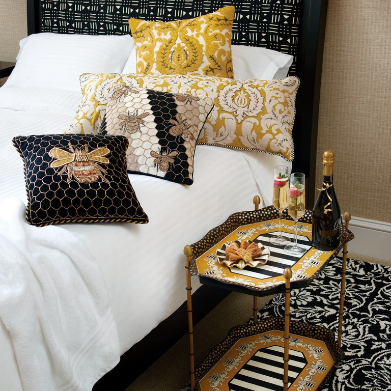 Queen Bee Collection, featuring the honeycomb and bee motif