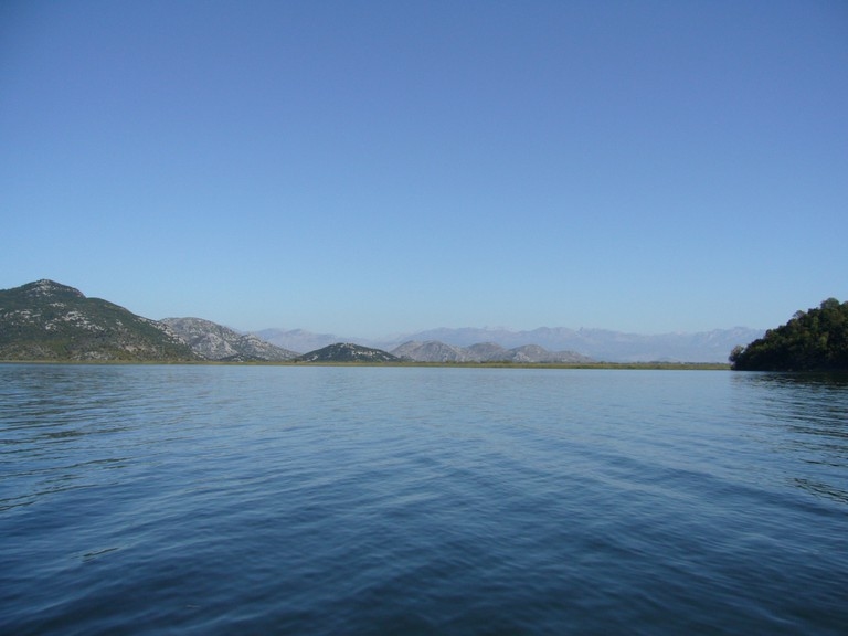 Shkodra Lake is one of the largest lakes of the Balkans and is located between Albania and Montenegro